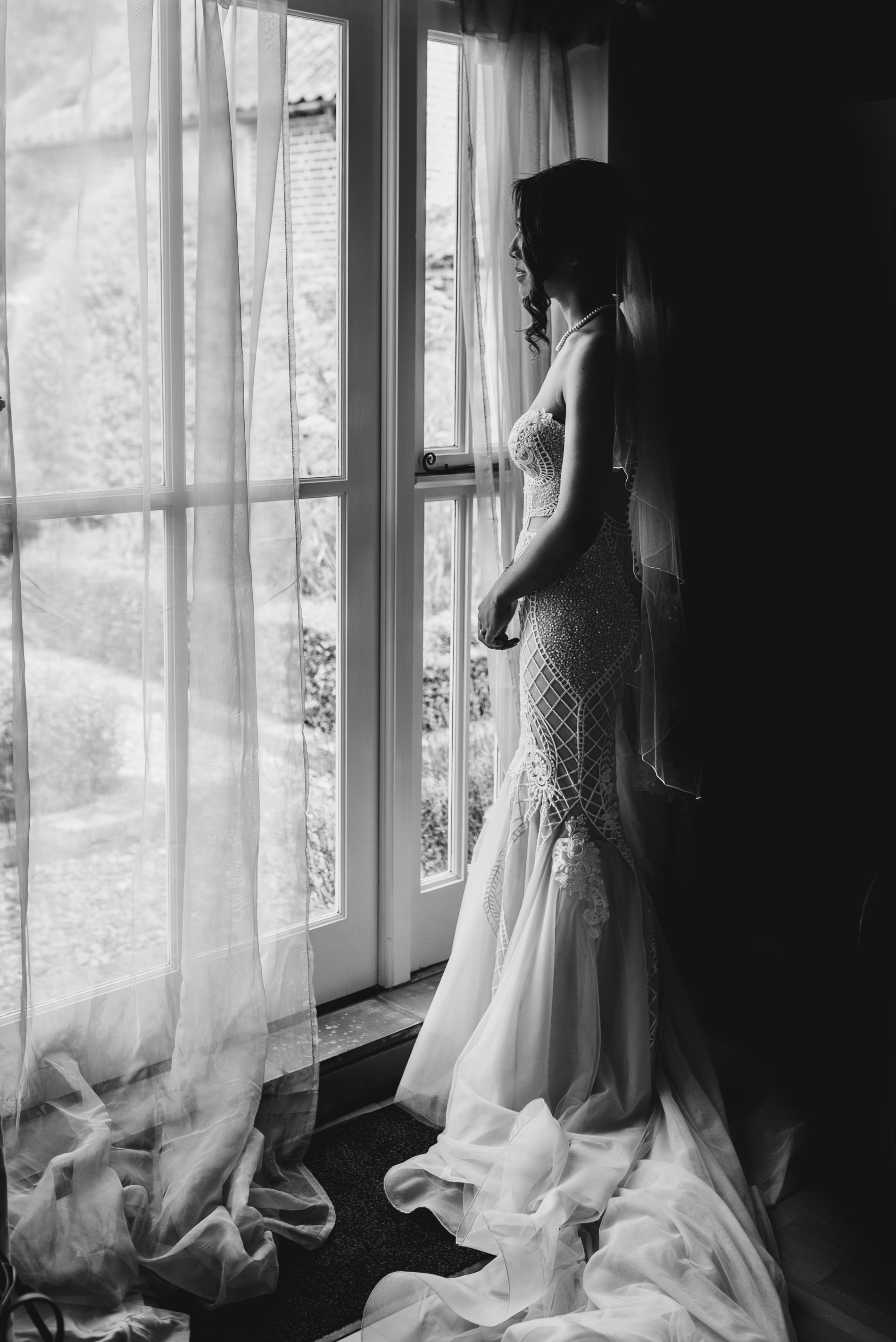 Pallas Couture Wedding Gown at White Dove Barns