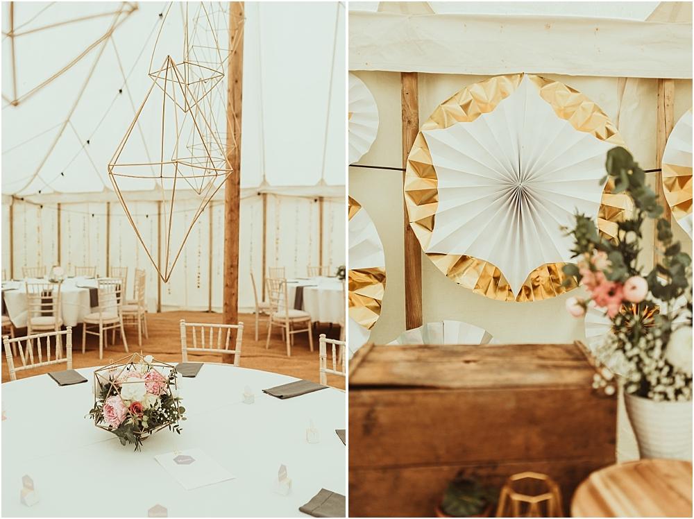 Geometric Wedding Design Ideas DIY