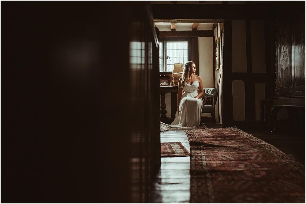 Bride Waiting Essex Alternative Photography