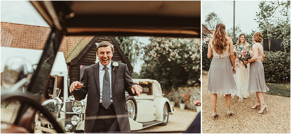 Alternative photography Essex Farm Wedding