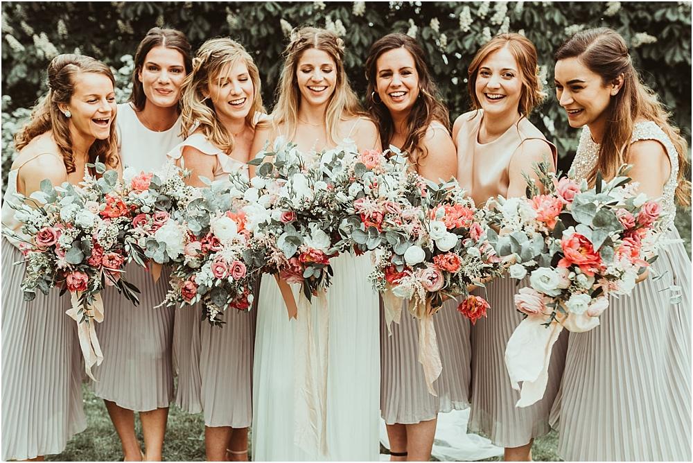 Bridesmaid Photos Essex Wedding Marquee