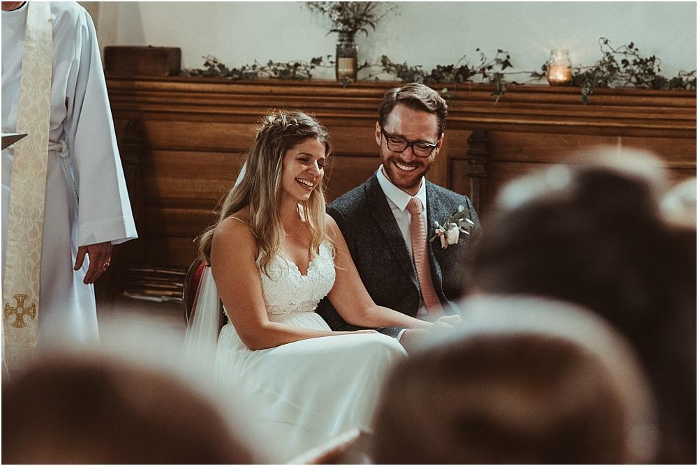 Relaxed Church Wedding Essex