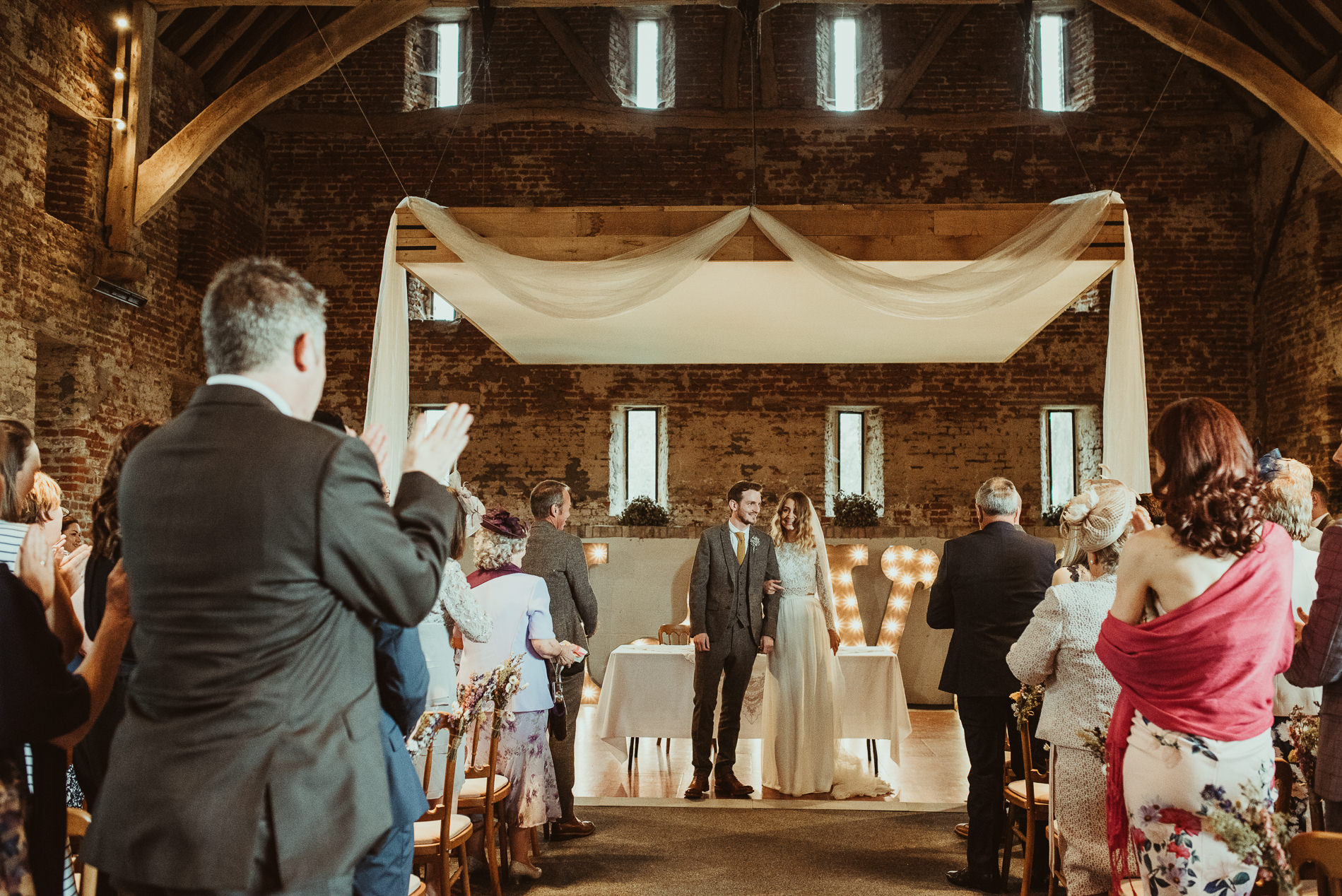Great Lodge Anne of Cleaves Wedding Ceremony
