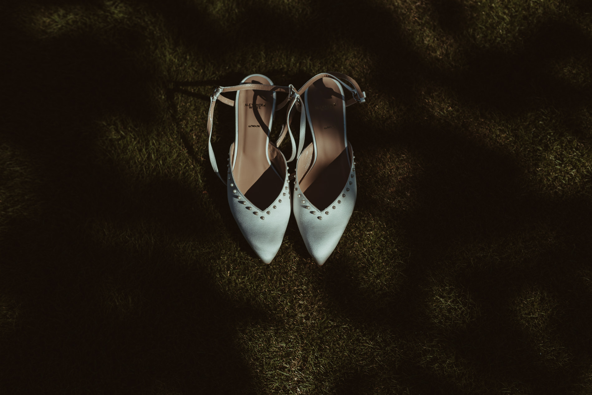 Alexander White Wedding Shoes Market Drayton - Jess Soper Photography