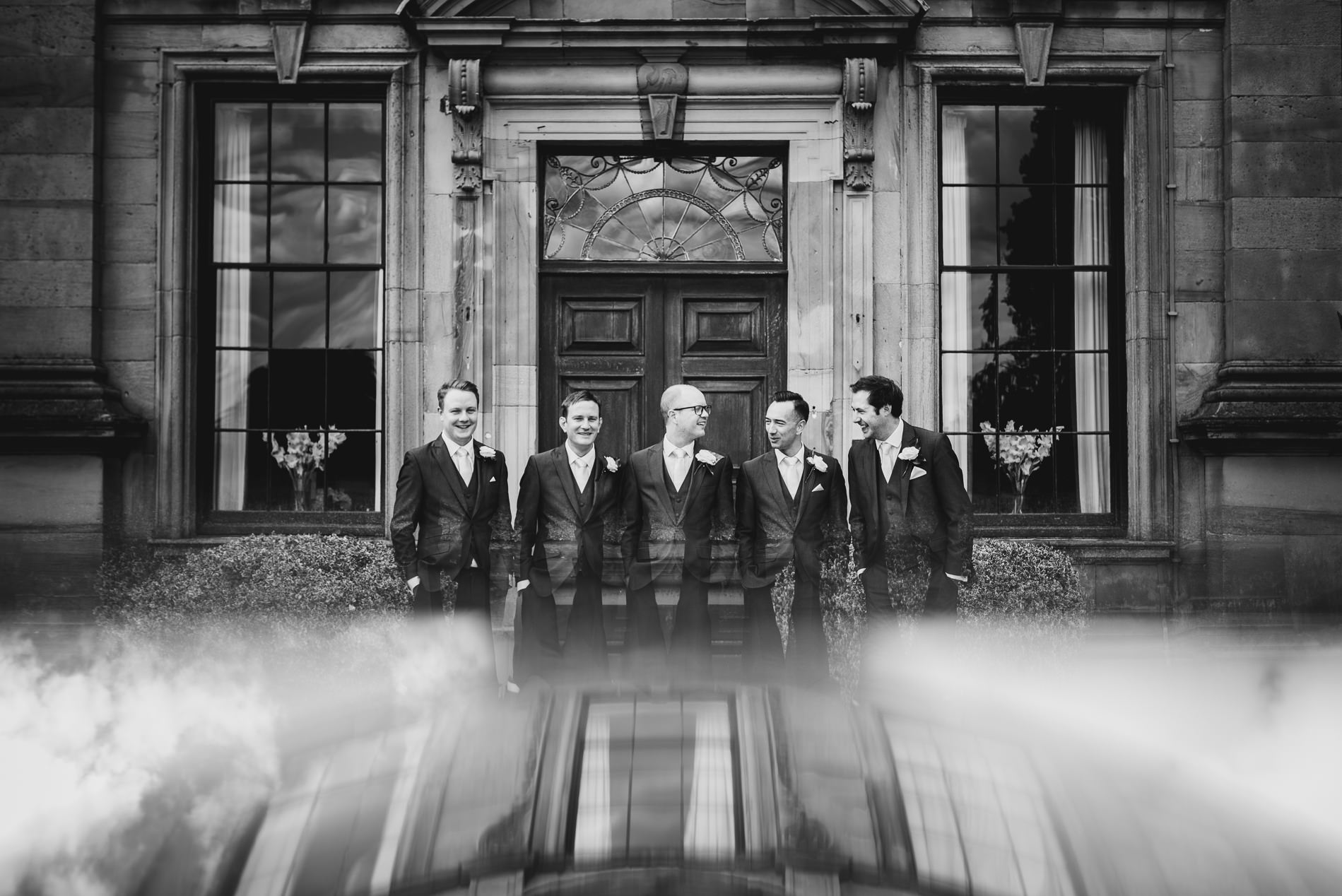 Groomsmen Oakley Hall Market Drayton Weddings - Jess Soper