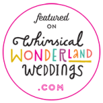 Whimisical Wonderland Weddings Feature