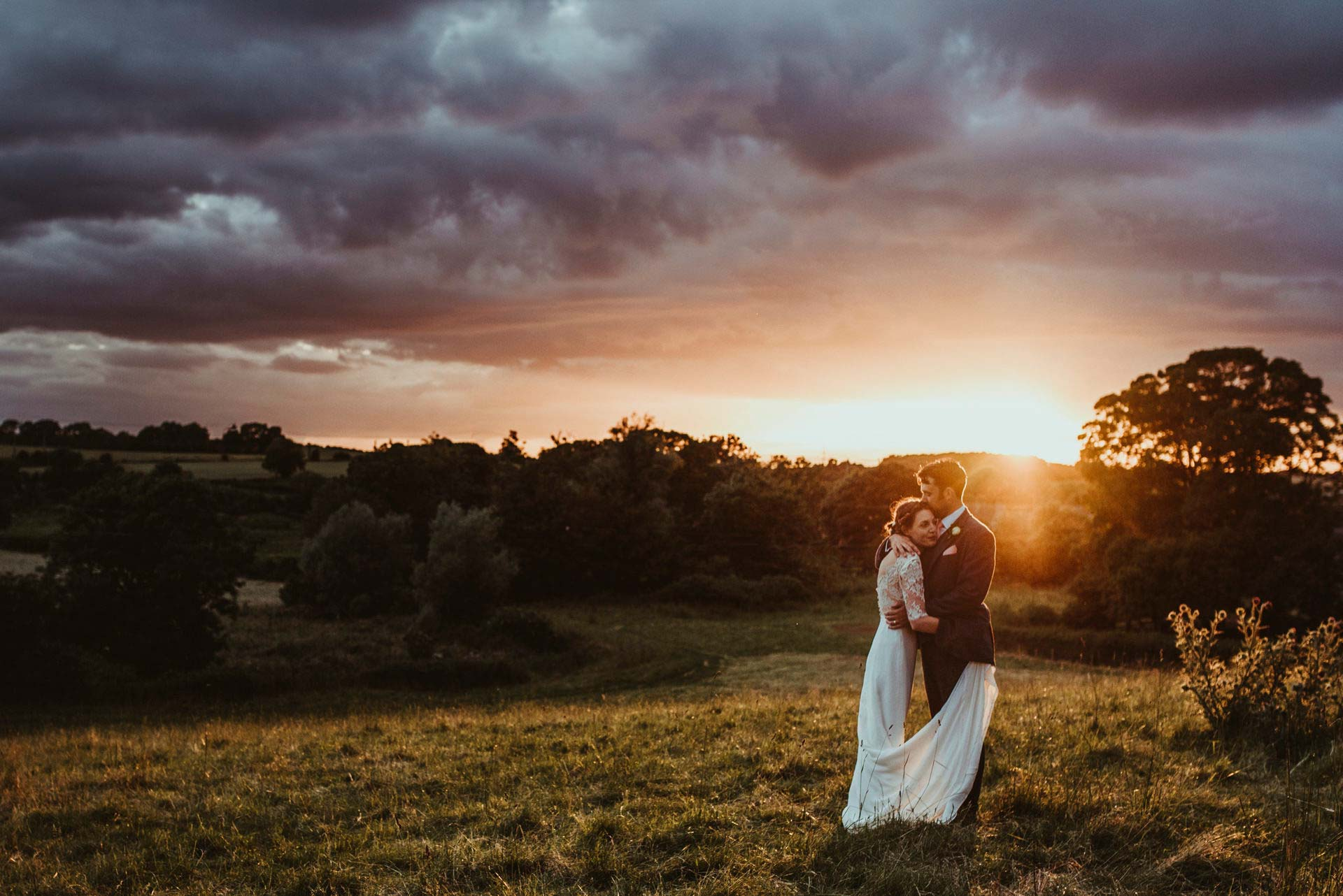 Essex Wedding Photographer Jess Soper Couple outside wedding