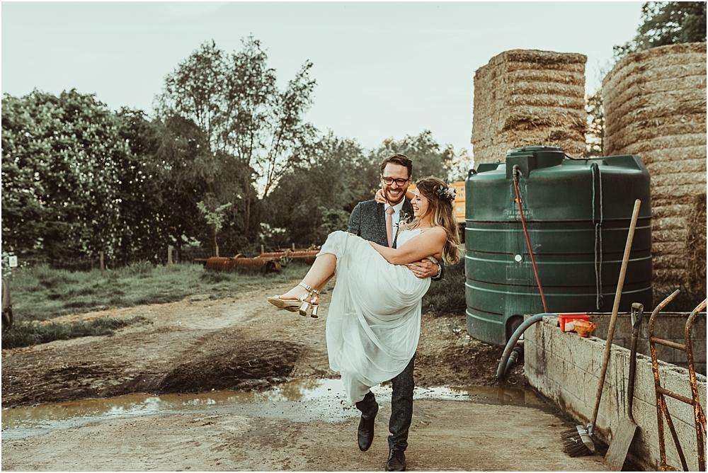 Alternative Photography Wedding Farm Essex