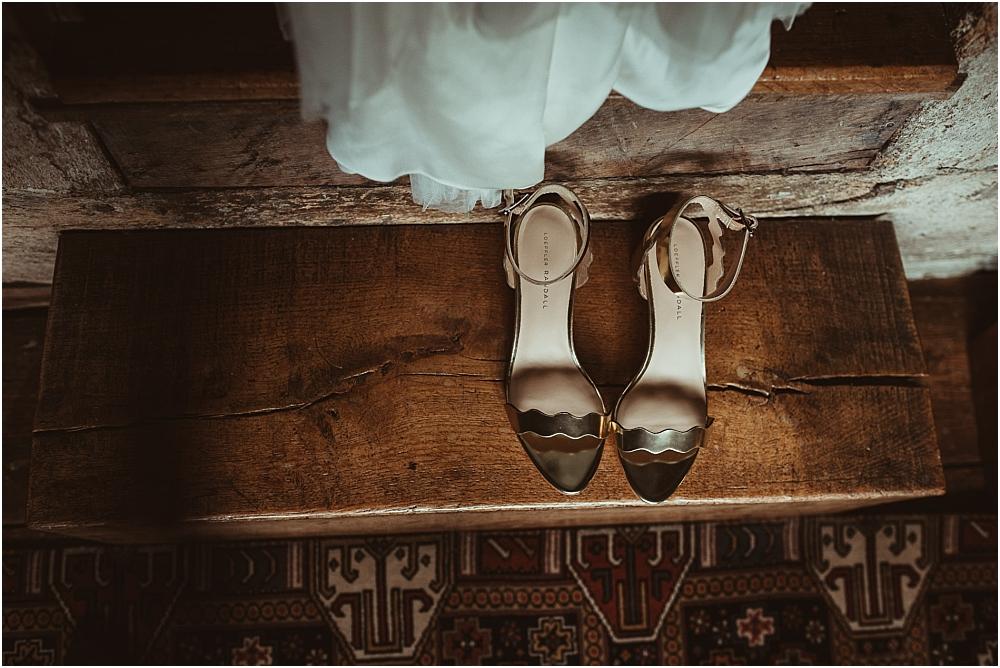 Gold Wedding Shoes UK Boho Wedding