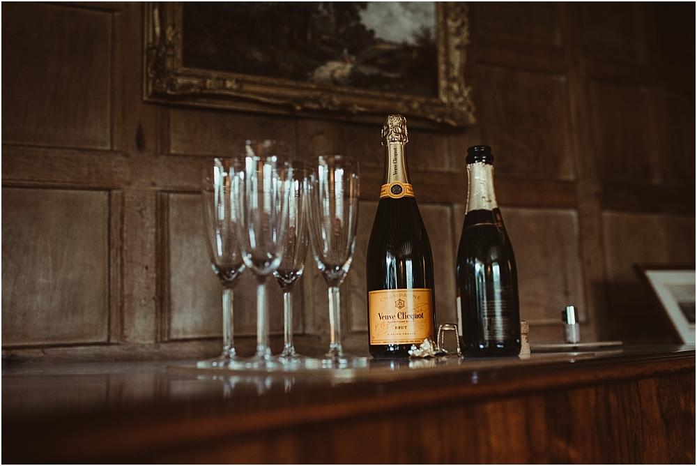 Champagne Wedding Morning Essex Farm
