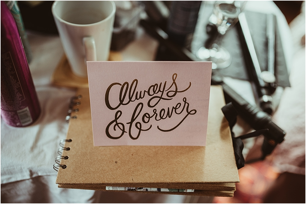 Always and Forever Card Wedding
