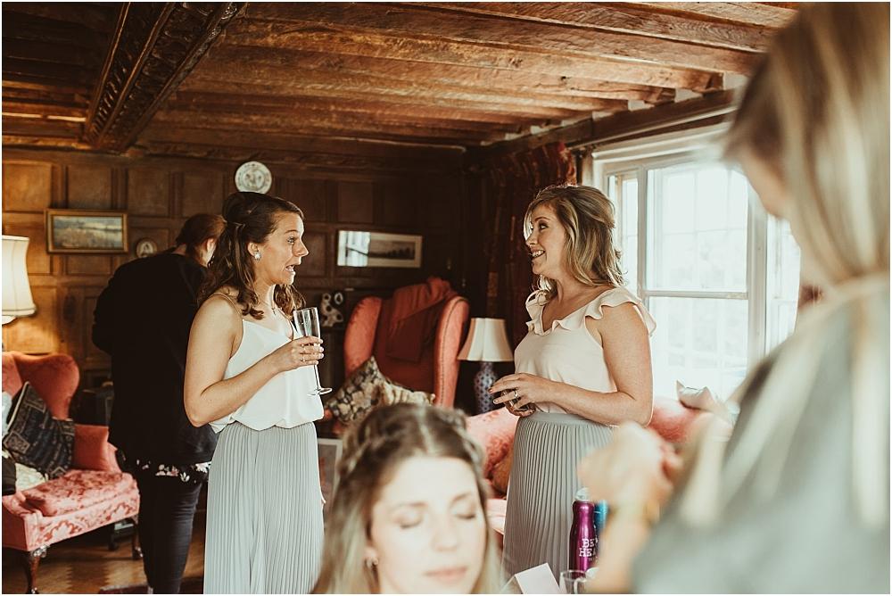 Bridesmaids Essex Farm Wedding