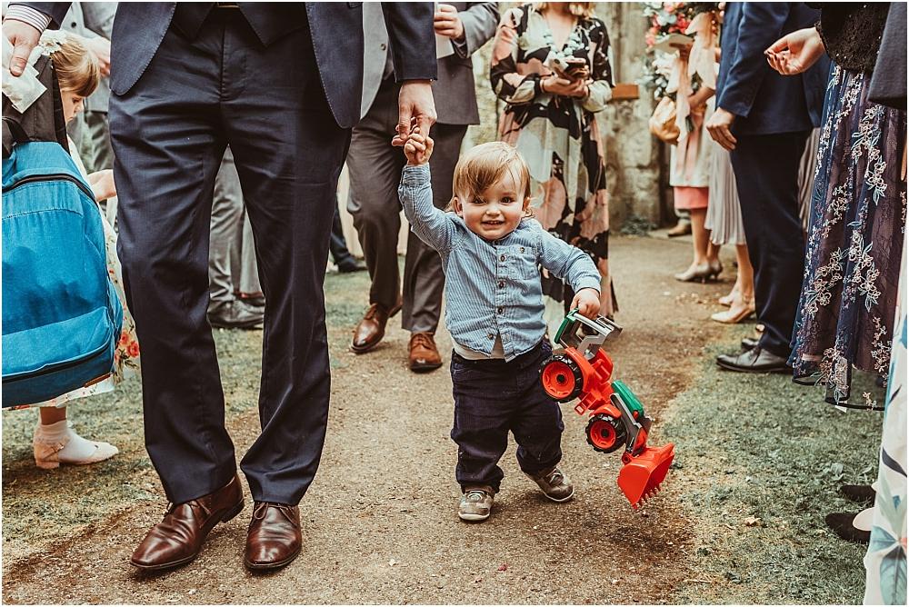 Boy at wedding natural photography