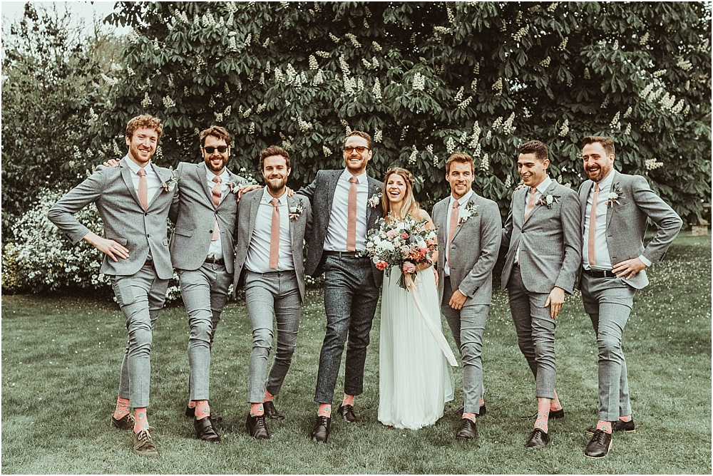 Group Photos Essex Wedding