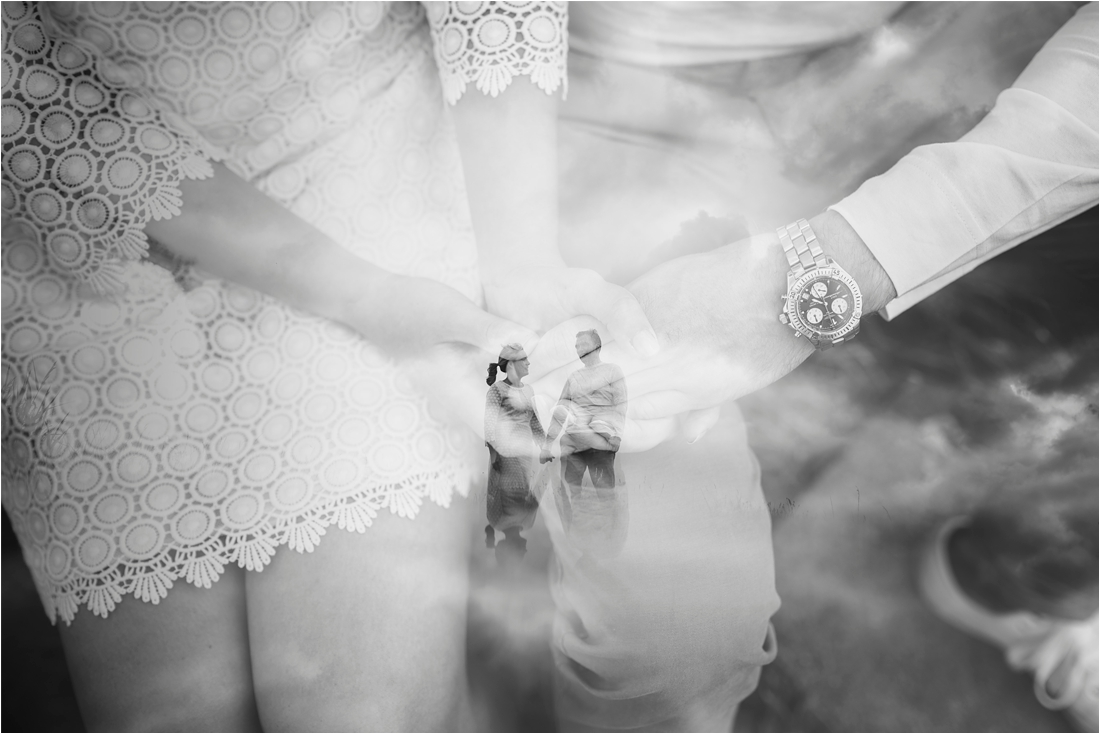 Best Essex Wedding Photographer Double Exposure