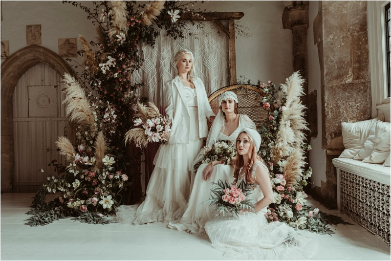 Brides in Halfpenny Wedding dresses