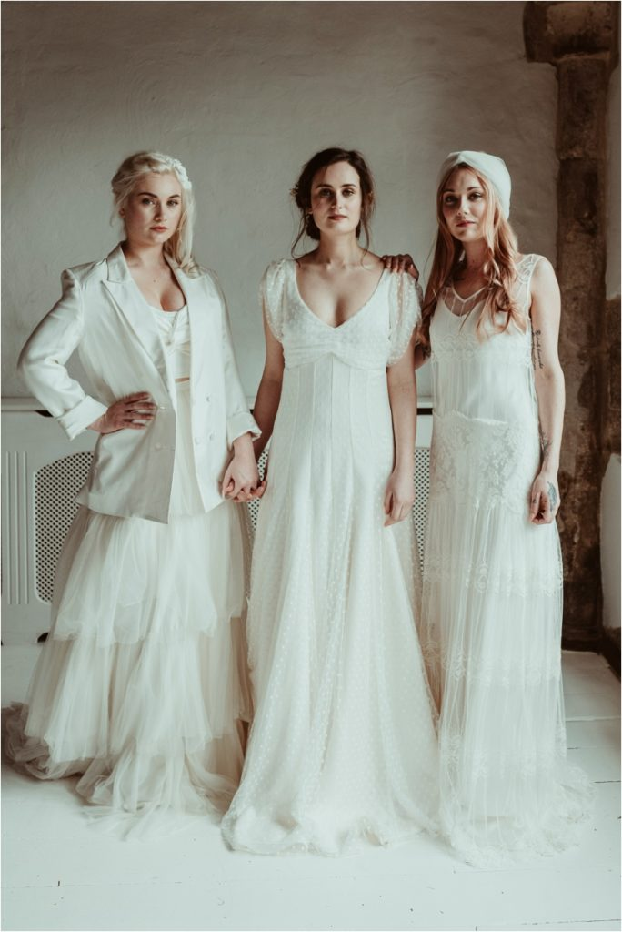 Halfpenny wedding dresses