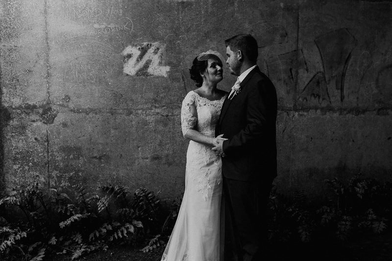 Fine art photography black and white at Le Talbooth Wedding
