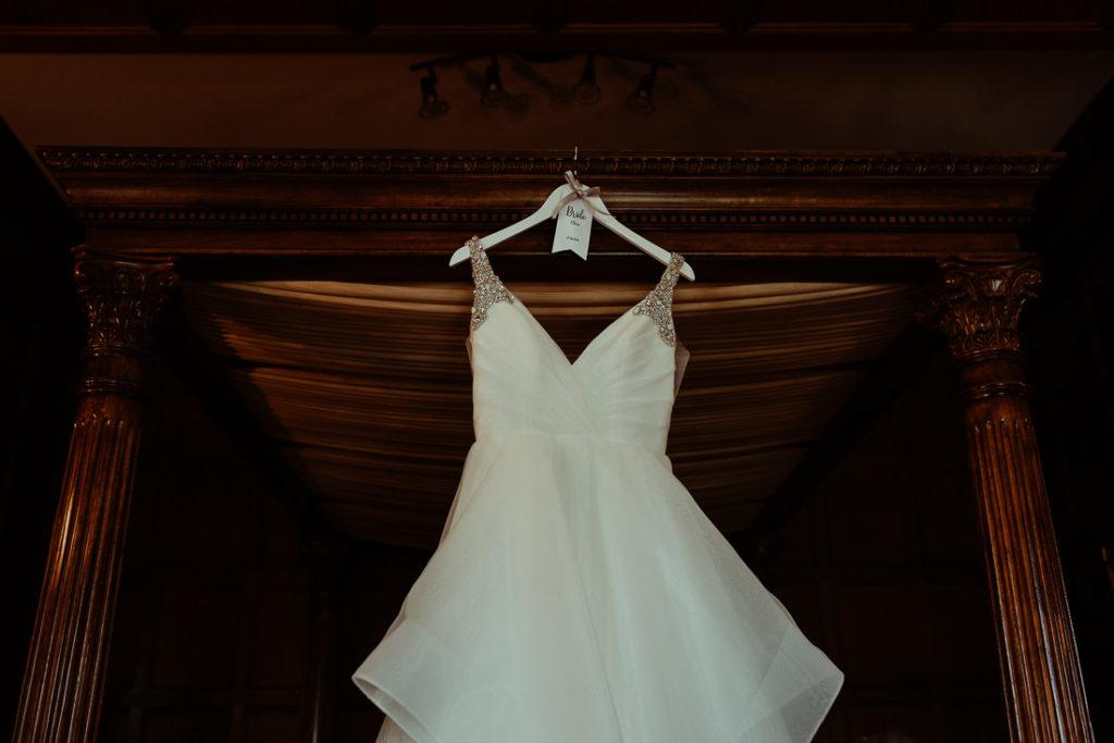 Hayley Paige wedding dress at Hengrave Hall