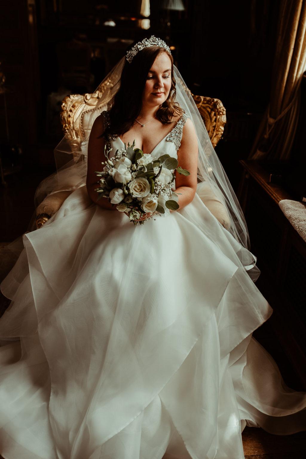 Bride at Hengrave Hall