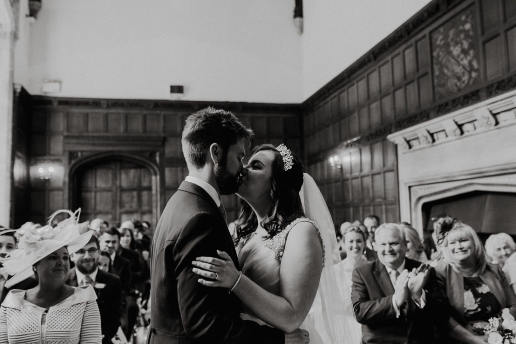 First kiss at Hengrave Hall