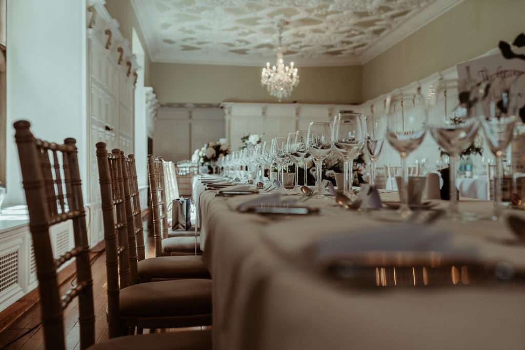 Dining room at Hengrave Hall