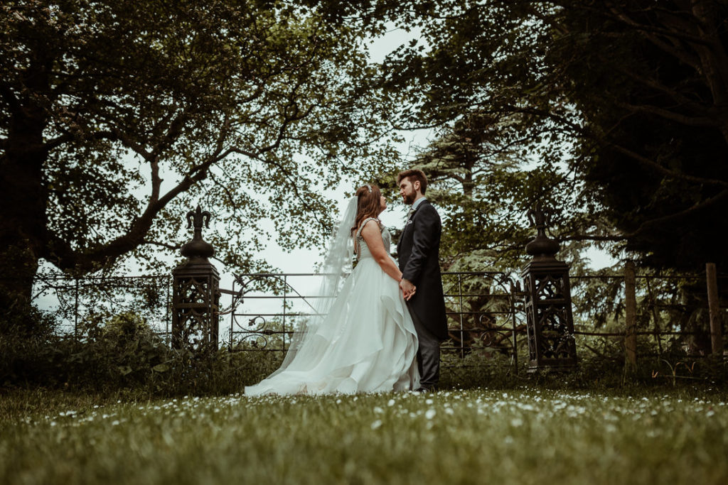 Married couple  at Hengrave Hall