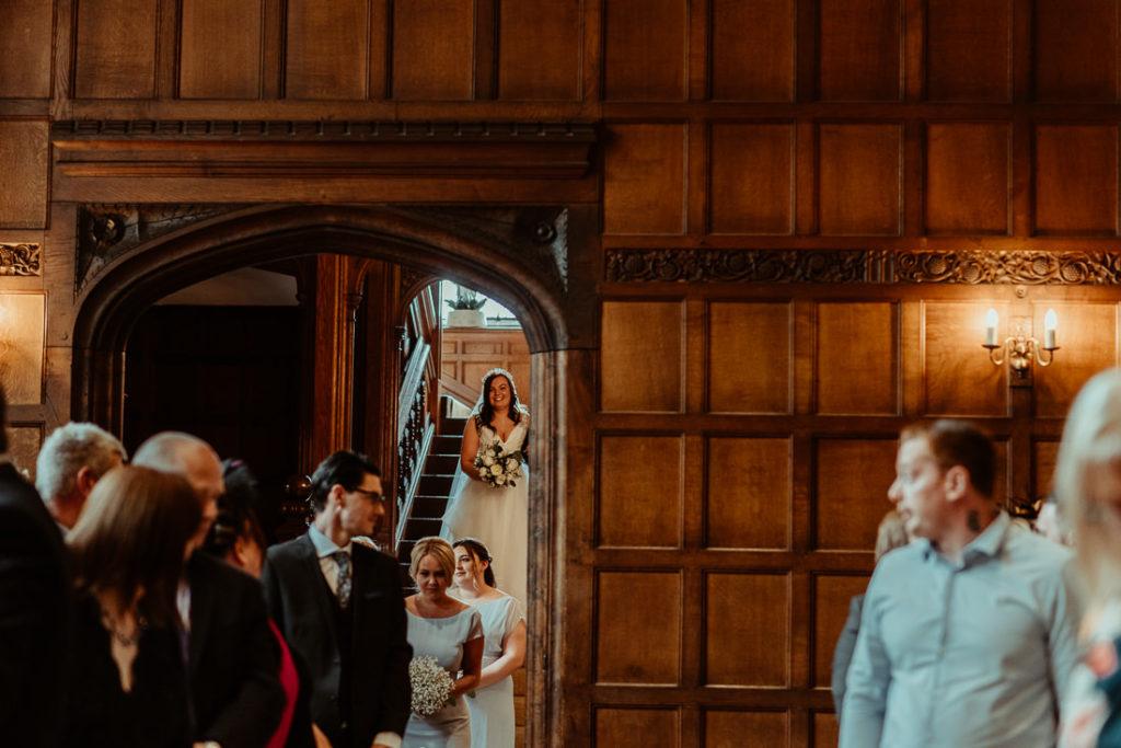 Wedding ceremony at Hengrave Hall