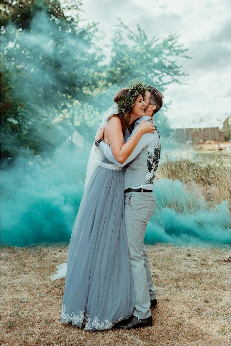 Fun wedding photography at Tey Brook Orchard