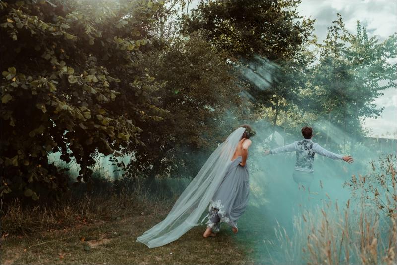 Alternative wedding at Tey Brook Orchard
