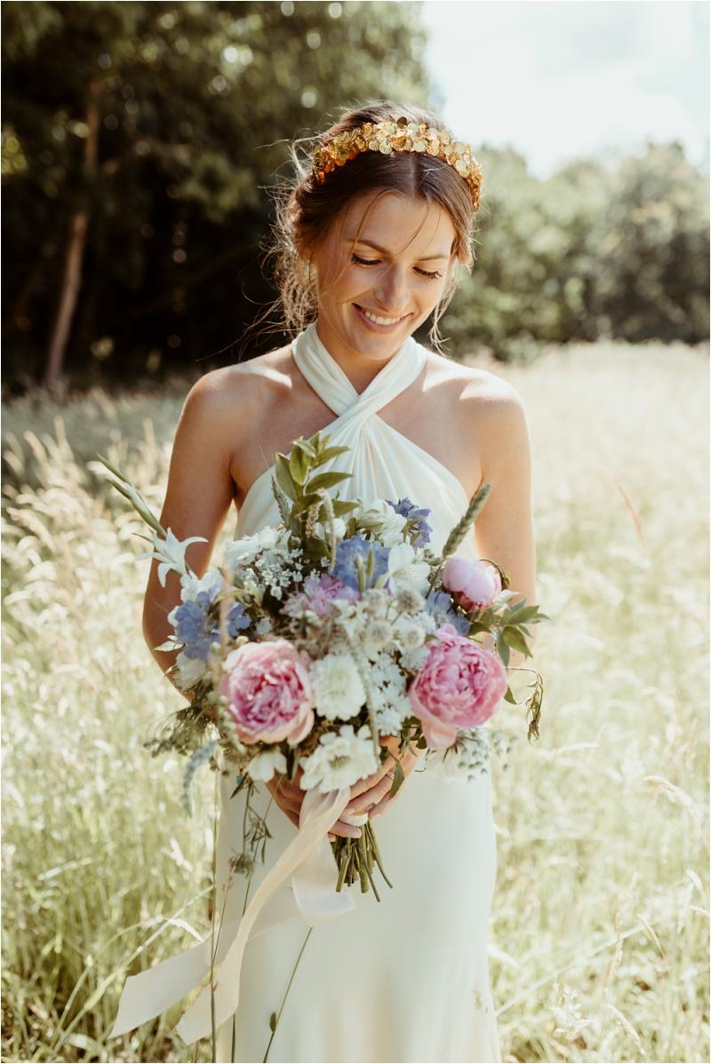 Bride at Norfolk Micro wedding